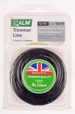 ALM Strimmer Wire -  Black - 3.5mm x 15m