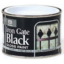 151 Coatings Iron Gate Gloss Paint - 180ml Black