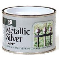 151 Coatings Metallic Paint - 180ml Silver