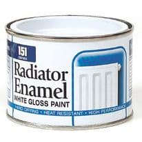 151 Coatings Radiator Enamel - 180ml White Gloss