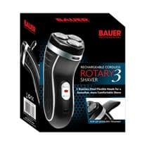 Bauer Smooth Action Cordless Rotary 3 shaver - 3-Head rechargeable