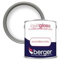 Berger Liquid Gloss 2.5L - Pure Brilliant White