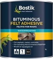 Bostik Bituminous Felt Adhesive for Roofs - 1L
