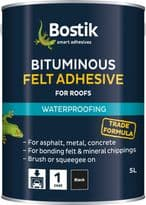 Bostik Bituminous Felt Adhesive for Roofs - 2.5L