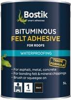 Bostik Feltfix Adhesive - 5L