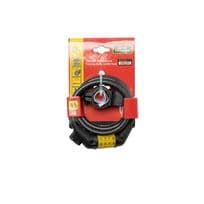 Burg-Wächter Combination Locking Cable with LED - 10mm x 1500mm