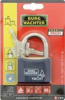 Burg-Wächter Stainless Steel Shackle Yacht Padlock - 50mm