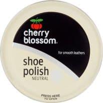 Cherry Blossom Shoe Polish - 50ml Tin Neutral