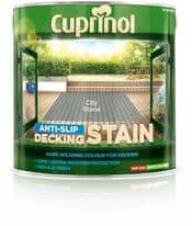 Cuprinol Anti Slip Decking Stain 2.5L - City Stone