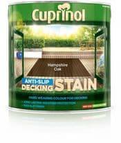 Cuprinol Anti Slip Decking Stain 2.5L - Hampshire Oak