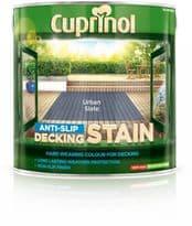 Cuprinol Anti Slip Decking Stain 2.5L - Urban Slate