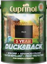 Cuprinol Ducksback 5L - Black