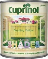 Cuprinol Garden Shades 1L - Dazzling Yellow