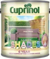 Cuprinol Garden Shades 2.5L - Heart Wood