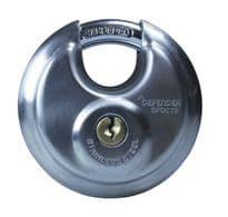 Defender Discus Padlock - 70mm