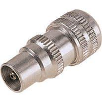 Dencon Metal Coax Plug - 12 Carded