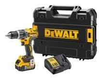 DeWalt 18V Combi Drill XR Brushless with 1 Battery