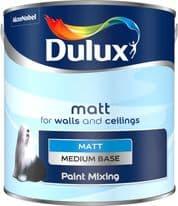 Dulux Colour Mixing 2.5L - Medium Matt Base