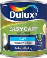 Dulux Colour Mixing Kitchen Matt Base 1L - Medium