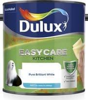 Dulux Easycare Kitchen Matt 2.5L - Pure Brilliant White