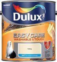 Dulux Easycare Matt 2.5L - Ivory