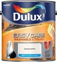 Dulux Easycare Matt 2.5L - Jasmine White