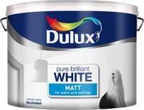 Dulux Matt 10L - Pure Brilliant White