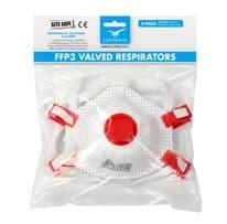 Glenwear FFP3 Valved Masks - Pack 5