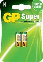 GP Super Alkaline Batteries - Pack 2