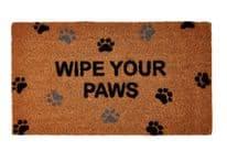Groundsman Wipe Your Paws Doormat - 40 x 70cm