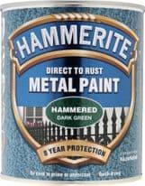Hammerite Metal Paint Hammered 750ml - Dark Green