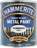 Hammerite Metal Paint Hammered 750ml - White