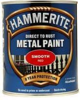 Hammerite Metal Paint Smooth 750ml - Red