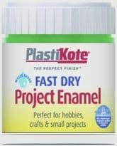 PlastiKote Fast Dry Enamel Brush On - Garden Green - 59ml Bottle