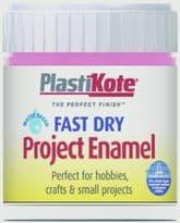 PlastiKote Fast Dry Enamel Brush On - Hot Pink - 59ml Bottle