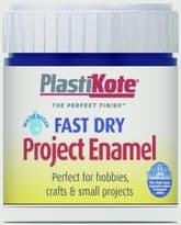 PlastiKote Fast Dry Enamel Brush On - Night Blue - 59ml Bottle