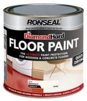 Ronseal Diamond Hard Floor Paint 2.5L - Cream