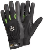 Tegera Synthetic Leather Winter Lined Glove - Size 8