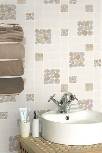 Holden Decor Kitchen & Bathroom Pebble 89122 Wallpaper