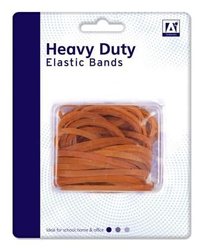A Star Heavy Duty Elastic Bands - 50g