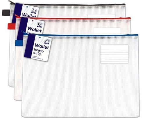 A Star Heavy Duty Wallet With Zip