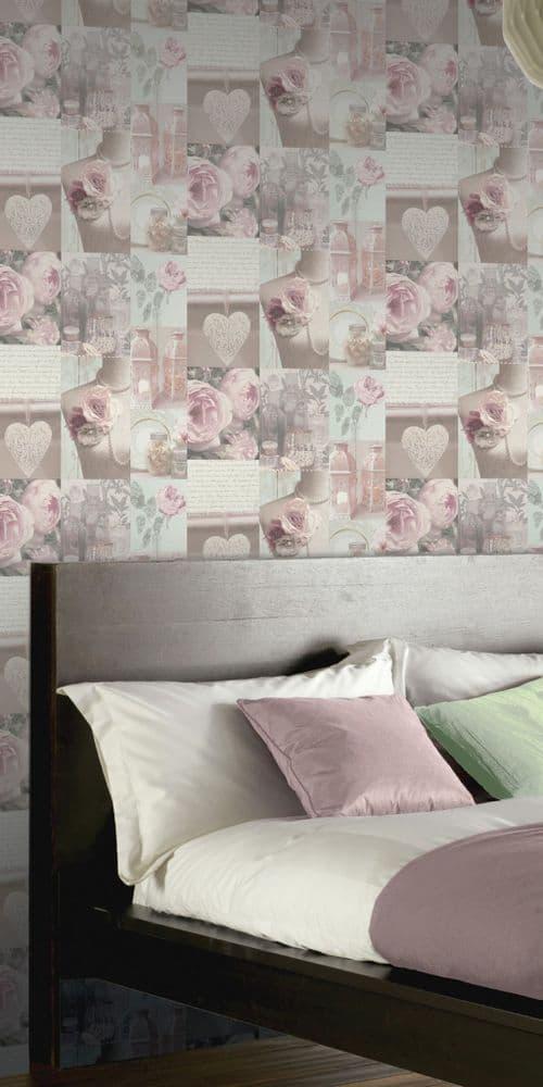 Arthouse Charlotte Blush 665200 Wallpaper