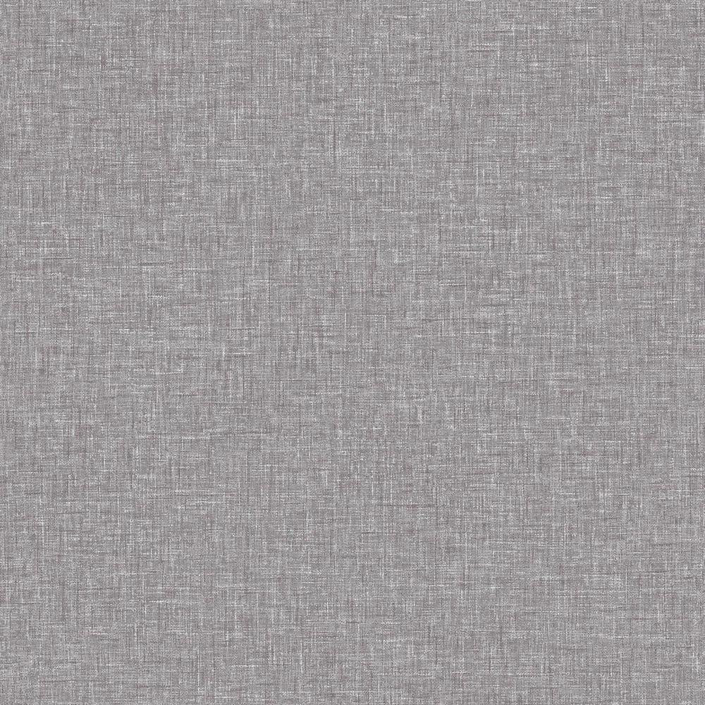 Arthouse Linen Texture Mid Grey 676007 Wallpaper