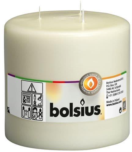 Bolsius Mammoth Candle - Ivory 150/150