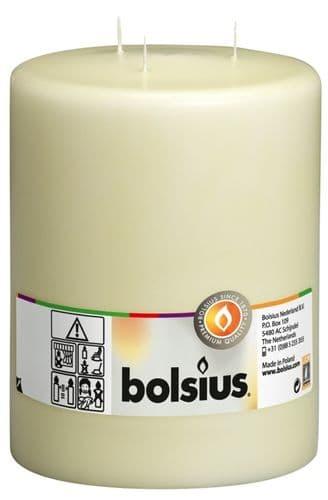Bolsius Mammoth Candle - Ivory 200/150
