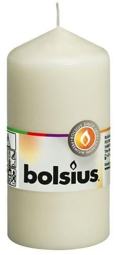 Bolsius Pillar Candle - Ivory 120/58