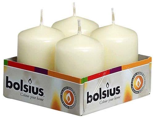 Bolsius Pillar Candle - Ivory Box 4