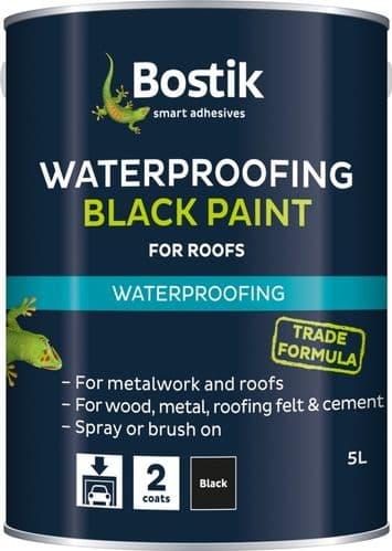 Bostik Bituminous Black Paint - 1L