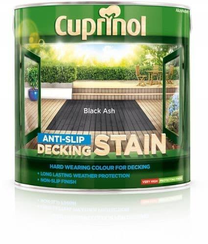 Cuprinol Anti Slip Decking Stain 2.5L - Black Ash