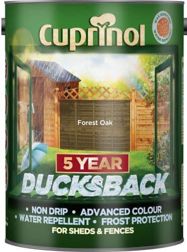 Cuprinol Ducksback 5L - Forest Oak
